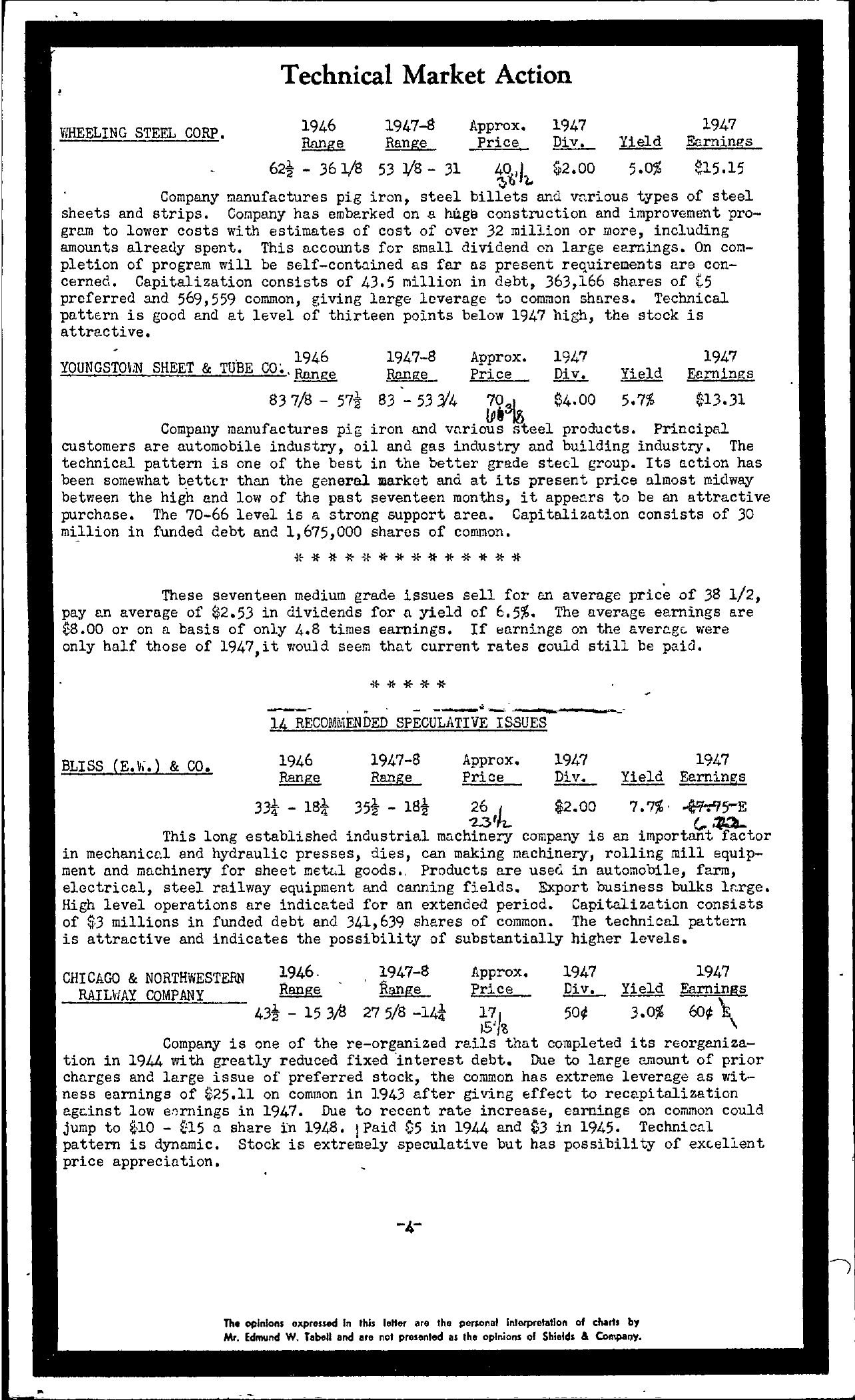 Tabell's Market Letter - February 11, 1948 - Page 4