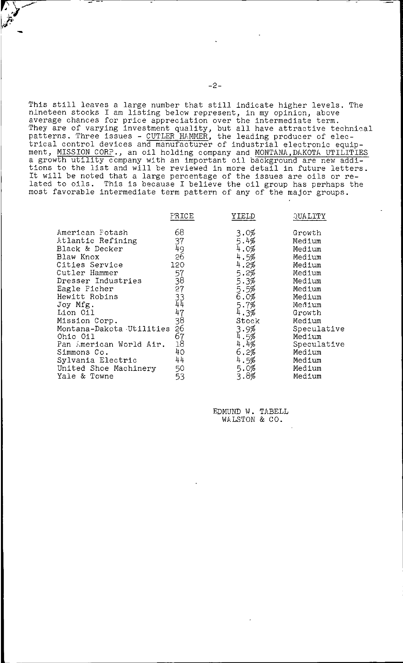 Tabell's Market Letter - January 07, 1955 page 2