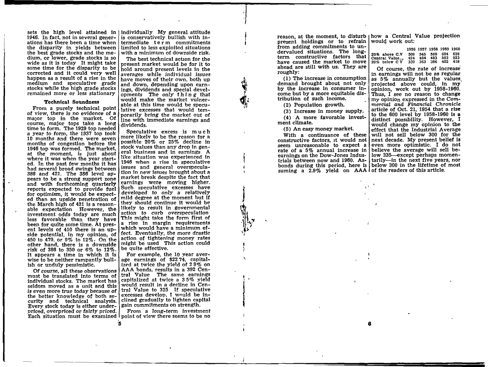 Tabell's Market Letter - April 15, 1955 page 3
