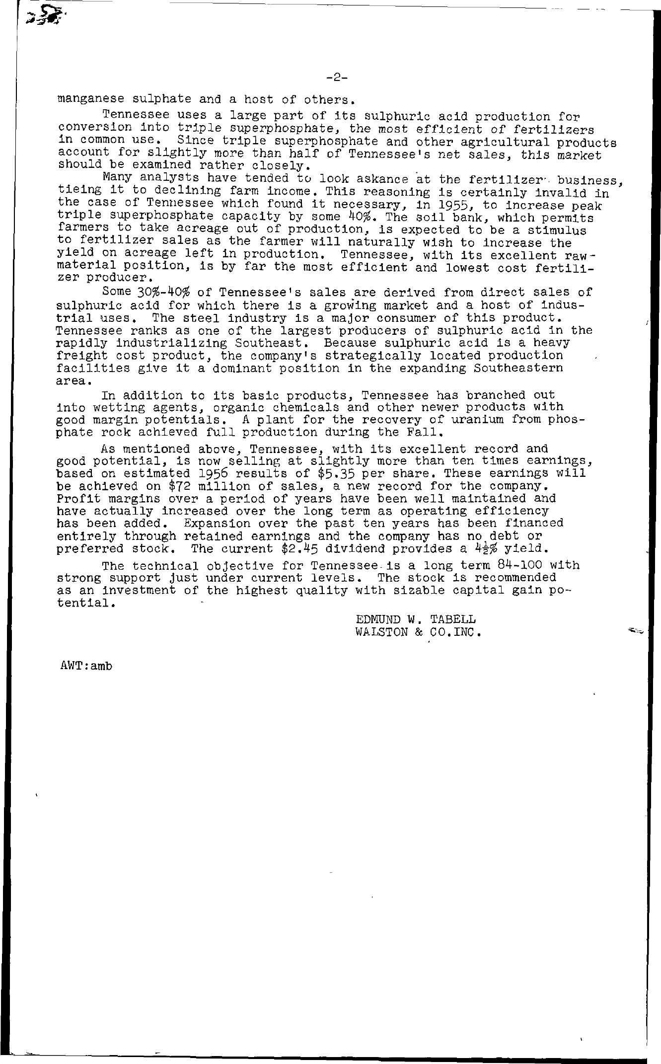 Tabell's Market Letter - December 07, 1956 page 2