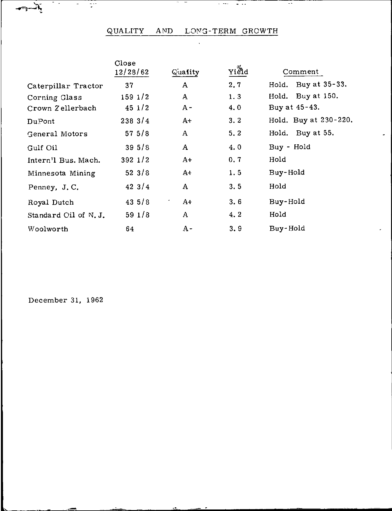 Tabell's Market Letter - December 31, 1962 page 2