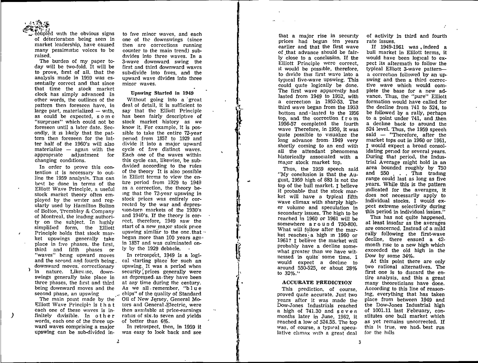 Tabell's Market Letter - May 20, 1966 page 2