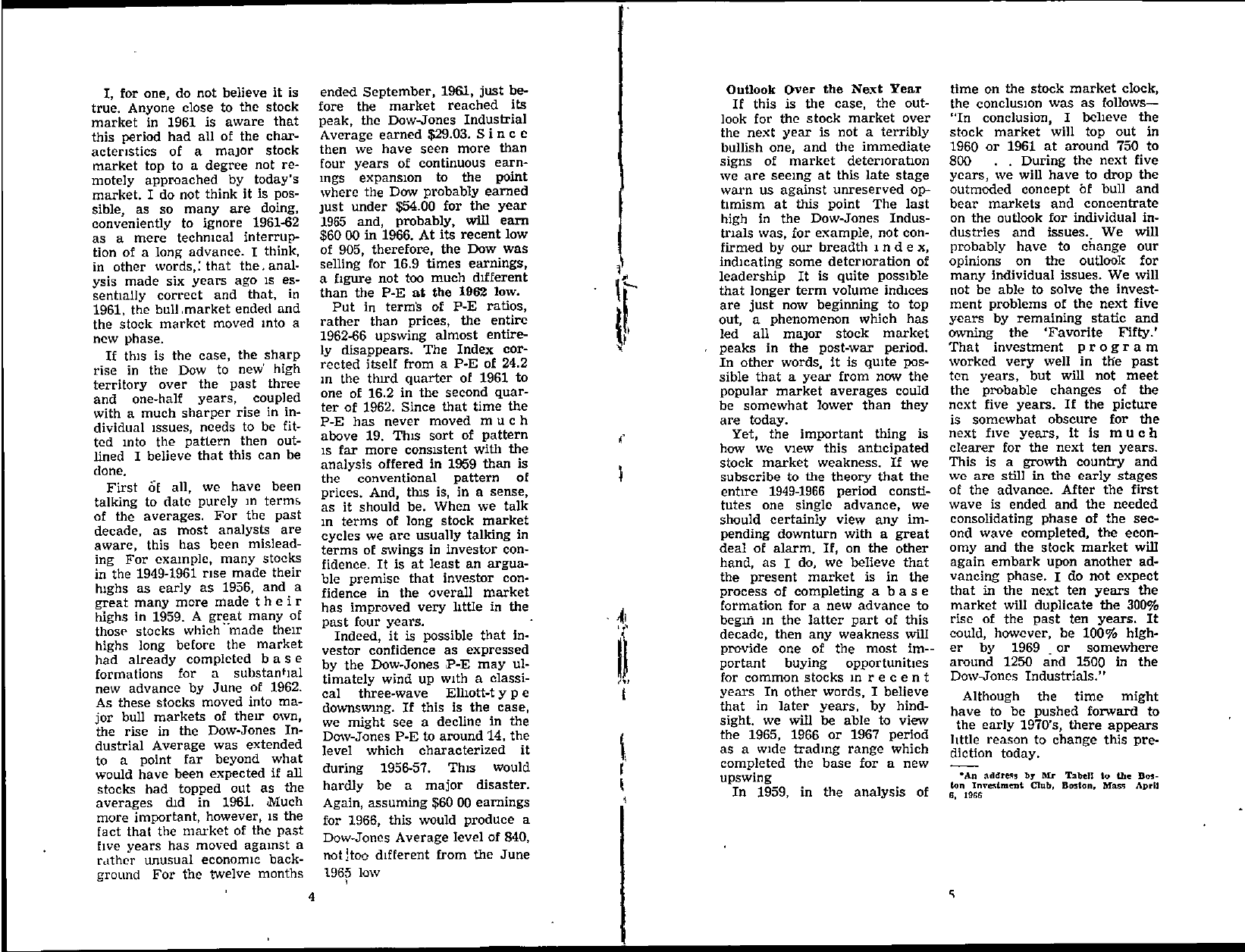 Tabell's Market Letter - May 20, 1966 page 3